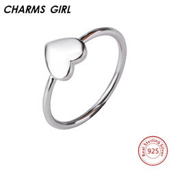 Charms girl classic heart anniversary 925 sterling silver rings for women jewelry hearts engagement wedding ring.jpg 250x250