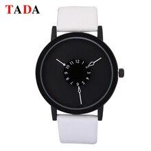 Waterproof luxury reloj hombre men watch ladies fashion simple dial leather Tada brand women quartz watch