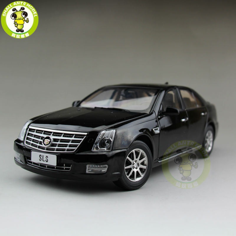 1/18 US GM Cadillac SLS Car Diecast Model Car Black