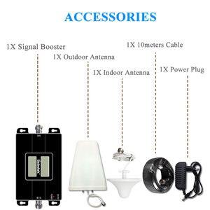 Image 5 - Lintratek repetidor de teléfono móvil 2G 4G LTE 1800 900 MHz, amplificador de señal de banda Dual GSM DCS LCD, conjunto de antena de señal móvil @