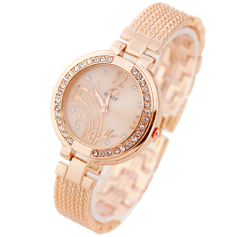 Fashion Petal Strap Bracelet Watch Round Dial Bracelet Table Women 's Watches relogio feminino Dropshipping Free Shipping NM5Z