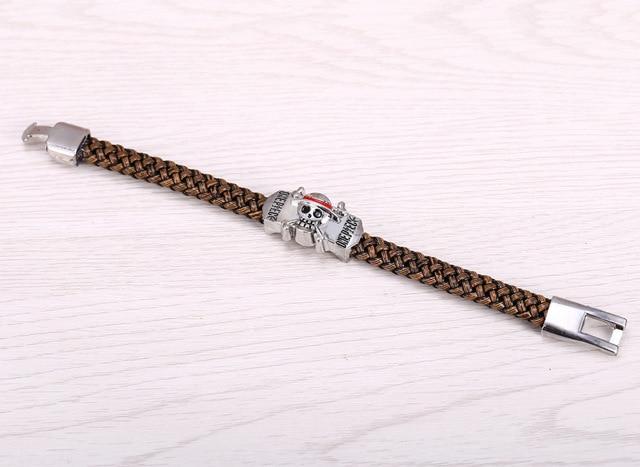 Anime One Piece Luffy Leather Bracelet