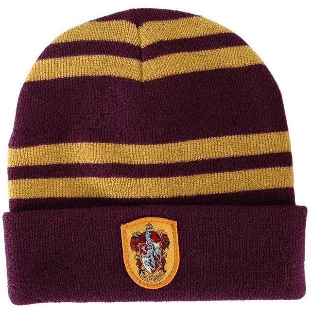 0223a6170b330 Gorros tejidos Harry invierno gorros deportivos calientes Potter mujeres  tejidos esquí Skullies hombres lana gorras niños