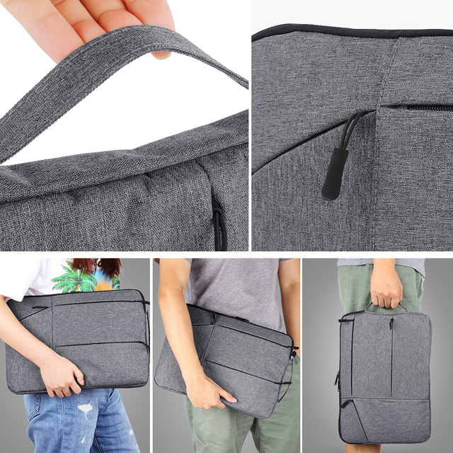 Laptop Bag For Macbook Air Pro Retina 11 12 13 14 15 15.6 inch Laptop Sleeve Case PC Tablet Case Cover for Xiaomi Air HP Dell 1