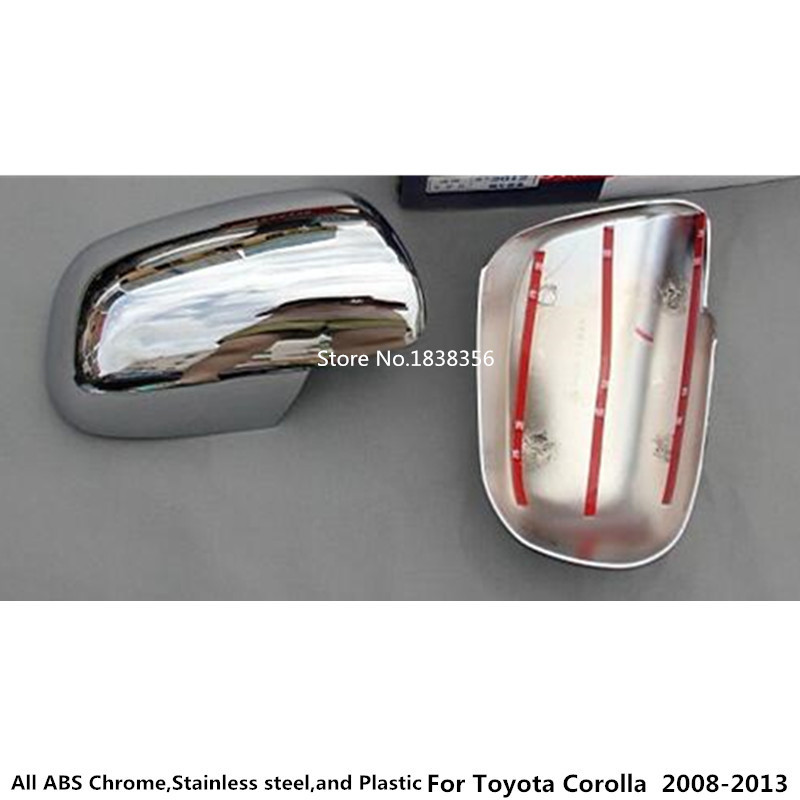 Car Body Inner Door Side Lamp Cover Light Frame Stick Trim 2pcs For Toyota Corolla Altis 2008 2009 2010 2011 2012 2013 Products Are Sold Without Limitations Exterior Parts Auto Replacement Parts