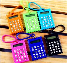 1 шт. канцелярские карты портативный калькулятор мини портативный ультра-тонкие Карты калькулятор Маленький Тонкий Карманный Калькулятор батарейки