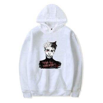 Hip Hop Xxxtentacion characte print hoodies Sweatshirt hoodie men O-Neck Hoody Men Woman Off White Hoodie Streetwear WGWY111 худи xxxtentacion