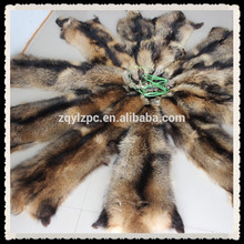Высококачественная натуральная кожа из меха енота
