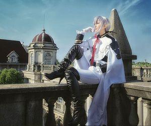 Image 5 - Owari uniforme de baño Ferid de Seraph of the end, traje completo de Cosplay de Anime