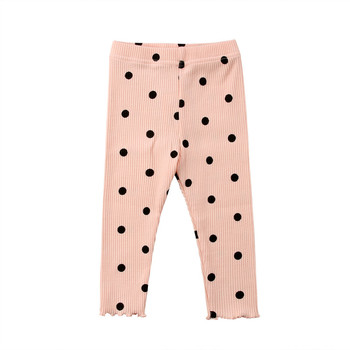 Baby-kleidung Kinder Kleidung Hosen Beiläufige Lange Dot Hose Schwarz Grün Rosa Weiß 4 Farben Hosen Baby Kleidung 0-24 Mt
