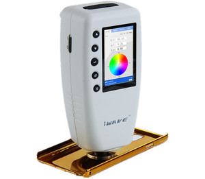 Image 2 - In Stock Fast Delivery  DHL WR10 High precision Digital Colorimeter Color Difference Meter Tester WR 10 ( CIELAB ,8mm ,D65)