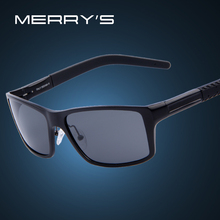 MERRY'S Men Aluminum Alloy Polarized Sunglasses
