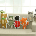 2016 INS HOT kids toy home sofa decorative throw pillow cute cartoon bear cushion baby doll gift for children free shipping