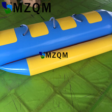 цена на MZQM  4 persons use Inflatable Sea Games Inflatable Flyfish Banana Boat For Advanture inflatable seats water games