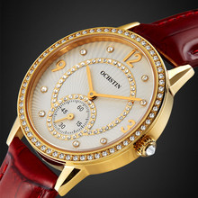 2016 Brand OCHSTIN Relogio Feminino Clock Female Genuine leather dress Watch Women Ladies Fashion Casual Quartz