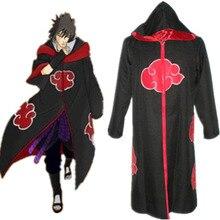 Бесплатная доставка Наруто Саске Орел Squad Косплэй плащ маскарадные костюмы с капюшоном плащ аниме маскарадный костюм для Хэллоуин