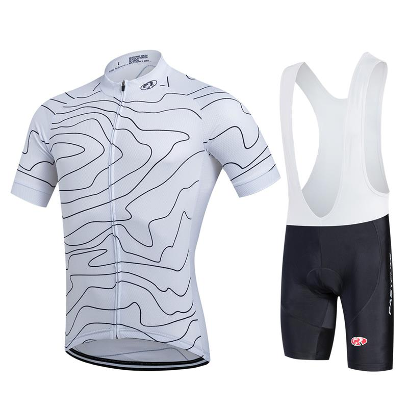 Cheap Bicycle Clothing for Men Summer Short Sleeve Bike Jerseys Personalised Cycling Jerseys Padded Bib Shorts Set Sport wear new brand phantom bike bicycle cycling jerseys short set sports t shirts gel padded tights for men