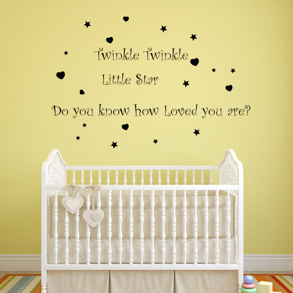 Buy kids wall stickers twinkles and get free shipping on AliExpress.com