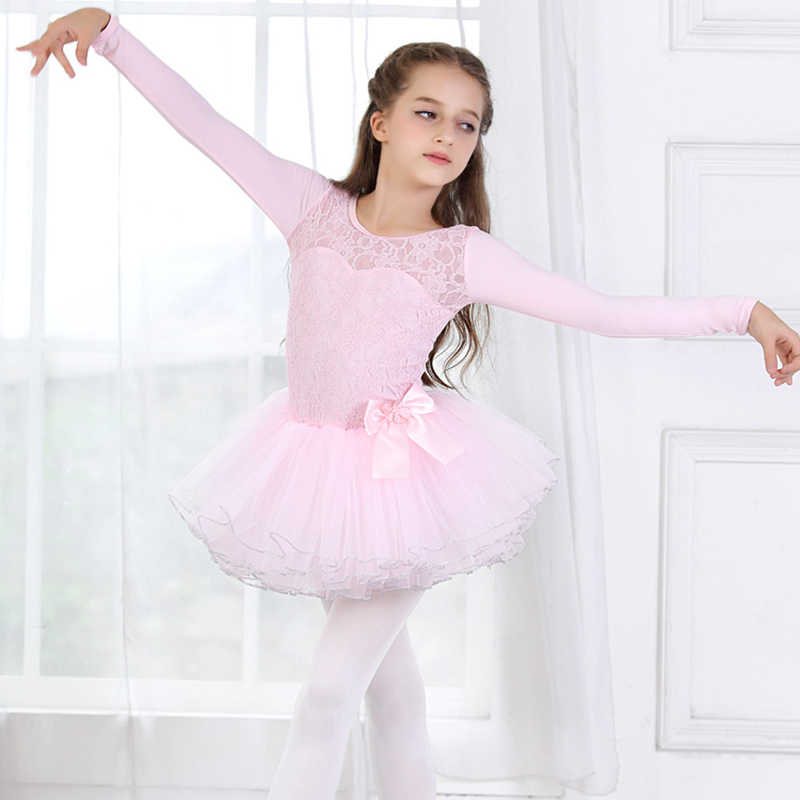 Girls Dancewear Ballet Dress Kids Tutu Skirt Ballerina Outfit Performing Costume