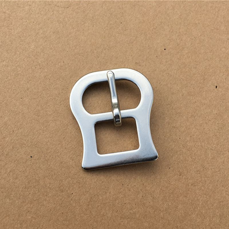 Stainless Steel Buckle For Horse Saddle Rugs Cinch Pin Buckle  Metal Girth Buckle