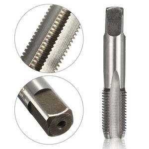 Image 4 - G1/8 1/4 3/8 1/2 3/4 1 BSP HSS Taper Pipe Tap Metal Screw Thread Cutting Tool