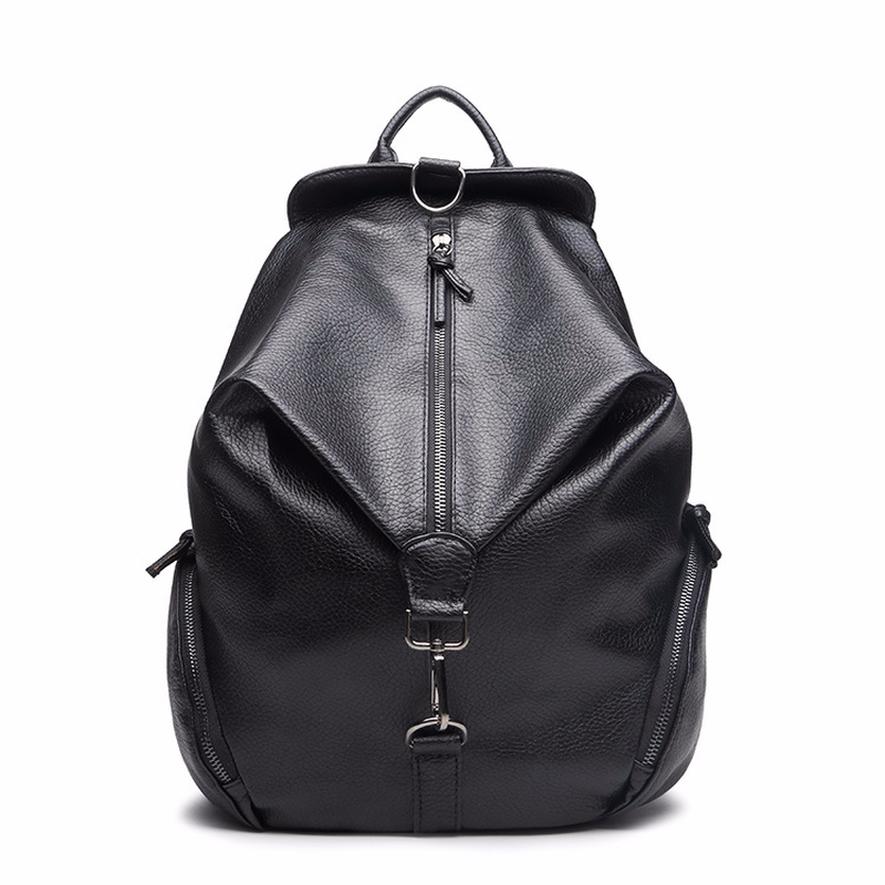 High Quality PU Leather Women Backpack Travel School Bags for Teenagers Girls Top Handle Backpacks Wear-resistant Shoulder Bag miyahouse new fashion pu leather backpack women school bags for teenagers girls travel backpack female high quality shoulder bag