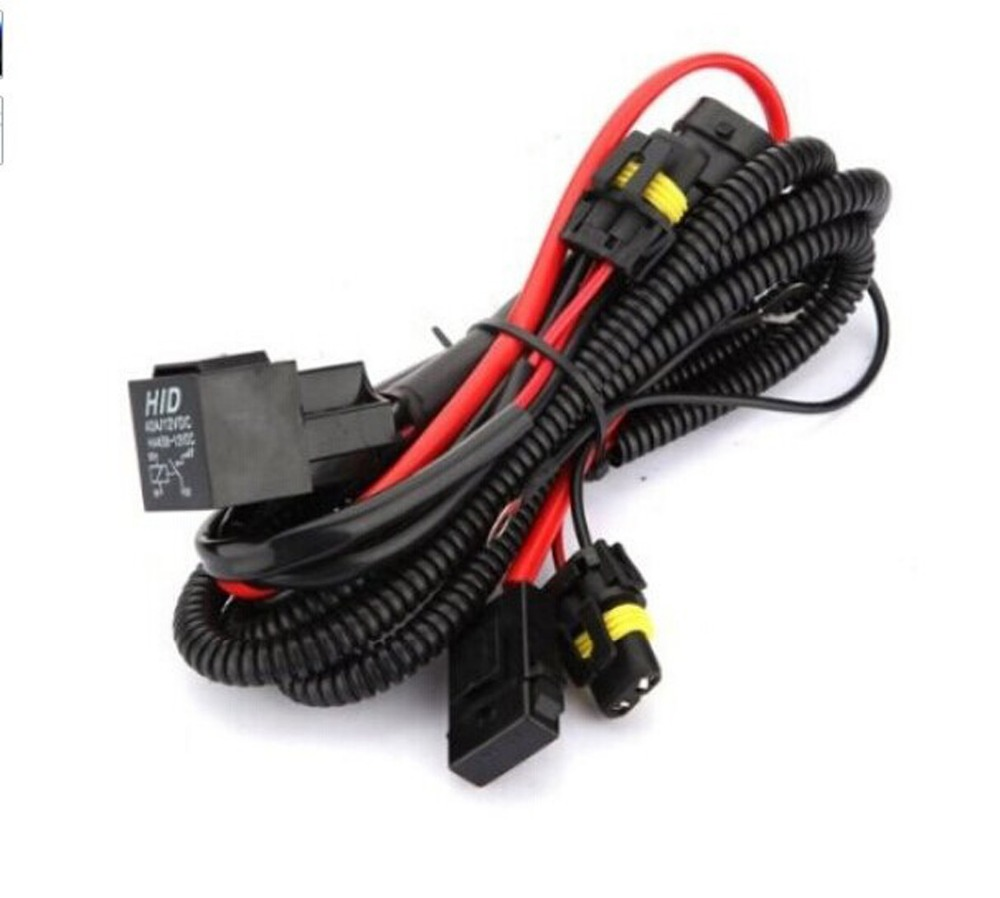 THTMH HID Conversion Kit Single Beam 40A Relay font b Wiring b font font b Harness online get cheap h1 h4 wiring harness aliexpress com alibaba group Custom Auto Wire Harness H4 at eliteediting.co