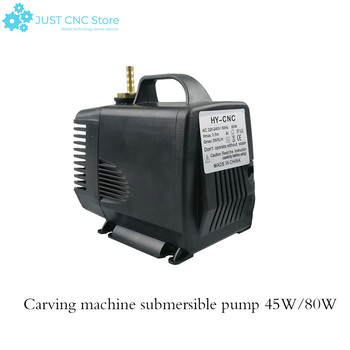 1pcs 45w/80w 3.5m water pump engraving machine tool cooling for cnc router 2.2kw spindle motor and 1.5kw spindle motor 300w 400w 500w spindle engraving machine spindle motor air cooling cnc spindle dc motor cnc engraving machine 0 3kw 0 4kw 0 5kw