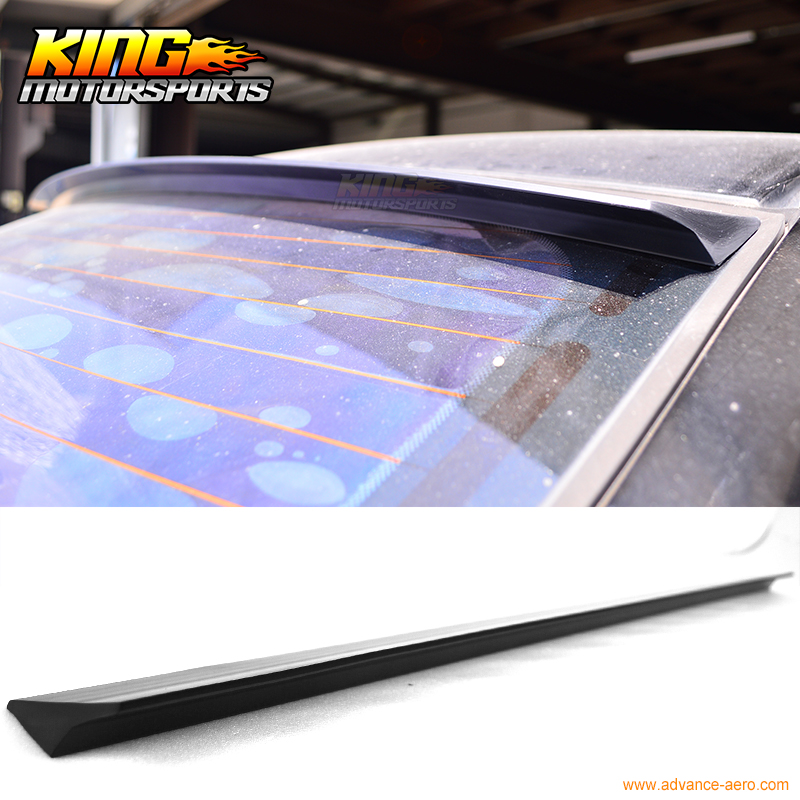 For 2008-2013 09 10 11 12 BENZ W204 4D VRS Style Roof Spoiler Wing Unpainted - PUF for 09 10 11 mazda 6 2nd vrs style roof spoiler wing unpainted puf