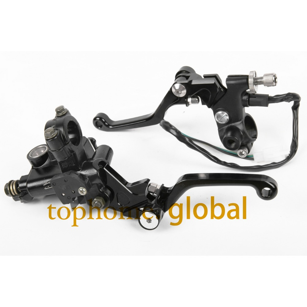 7/8 New CNC Brake Master Cylinder Pressure Switch Reservoir Levers Dirt Pit Bike Set For Yamaha WR250F/450F 2005-2009 2010-2013 jiangdong engine jd495t for tractor like jinma luzhong etc the water pump part number