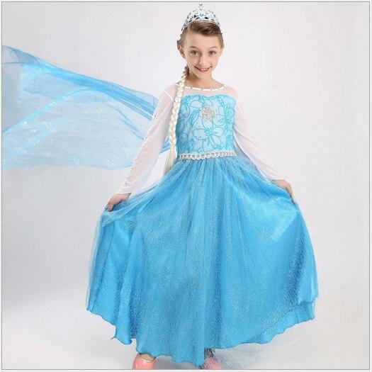 Ropa De Las Muchachas De Princesa Sofia Vestido Frozen