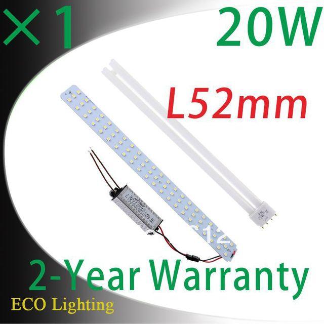 110V 220V 240V Magnetic 18W Led Ceiling Tube Lights Led Panel Tube Lamps Replacement 55W CFL T Tube