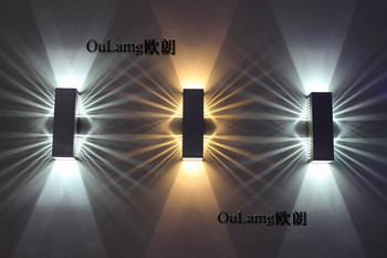 LED bar corridor wall bedroom TV sofa background light stair corner lamp simple European style