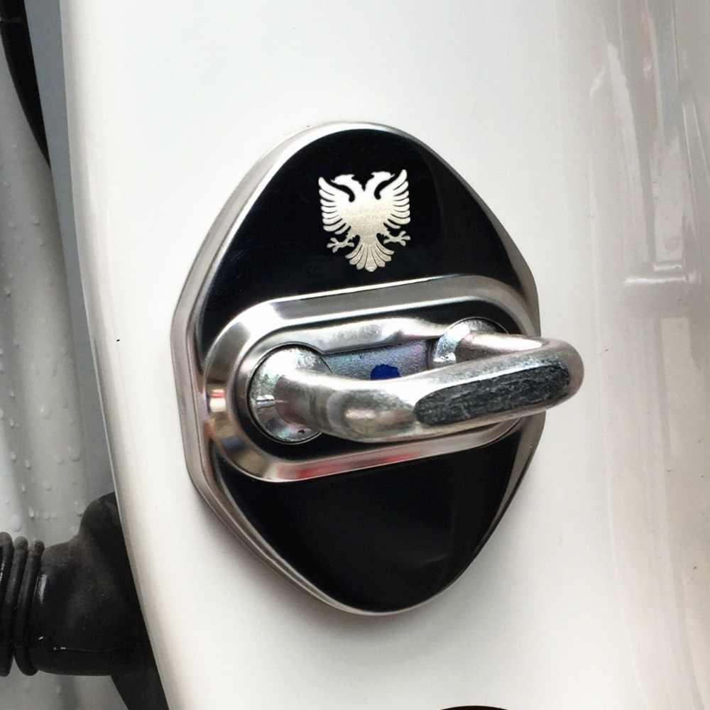 Дверной замок чехол для Toyota Corolla Camry avensis rav4 yaris auris Prado Land Cruiser российский Орел аксессуары стайлинга автомобилей