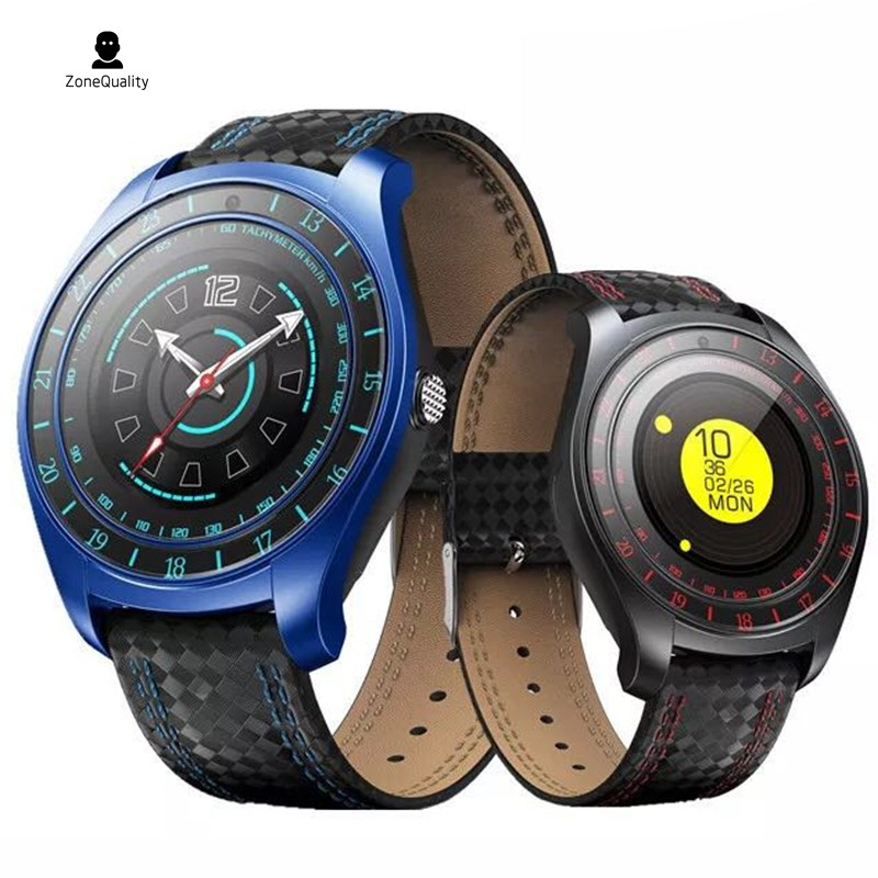 ZoneQuality 2018 New Arrival Smart Watch <font><b>V10</b></font> Support SIM Card Bluetooth Camera <font><b>Smartwatch</b></font> Heart Rate Pitch Wristwatch for Androi image