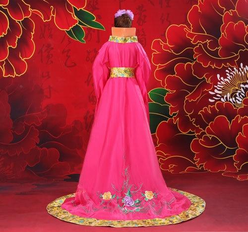 2018 Hanfu Ancient Chinese Costume Women's Hanfu Dress Cosplay - Nationella kläder - Foto 5