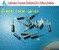 ( Cristal | cilindro ) relógio de cristal oscilador 32.768 KHz cilindro, 3 x 8 mm, Passiva cristal de quartzo ressonador, 32768