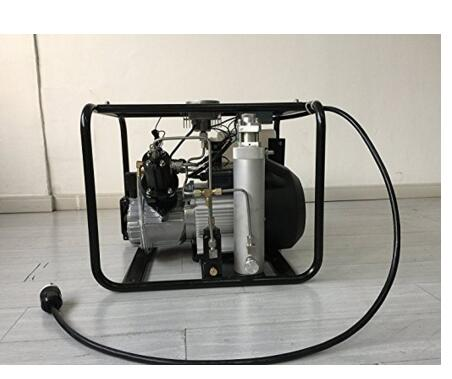 New JUFENG 220V 110V 300bar Automatic Stop High Pressure Portable 4500psi Electric Air Compressor for scuba tank PCP Pump