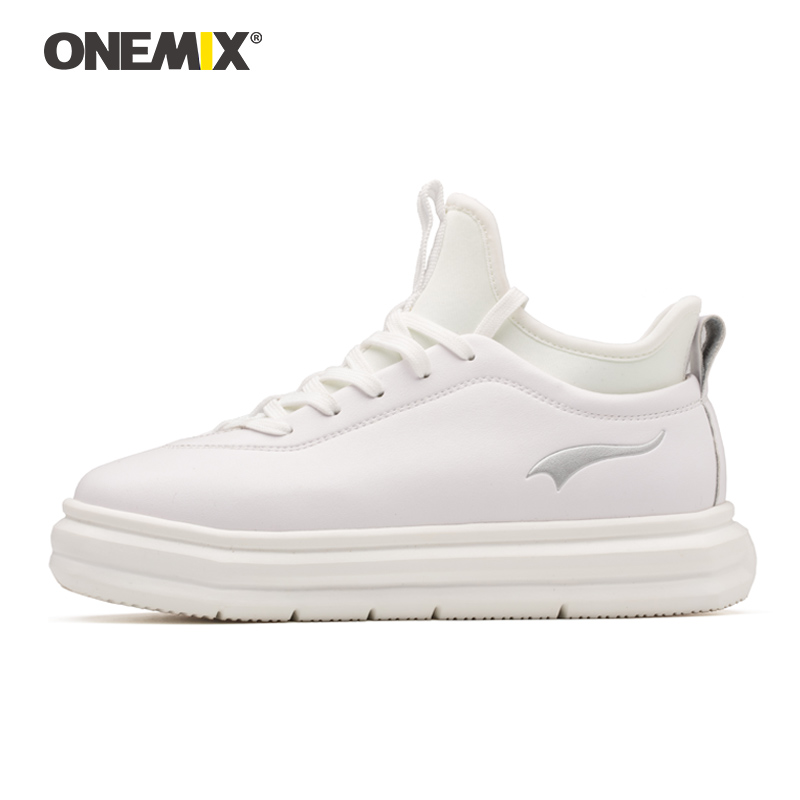 Onemix sports shoes for women breathable outdoor athletic women shoe micro fabric leather light female shoes for outdoor walking vik max athletic shoe women tricot lined figure ice skates shoes