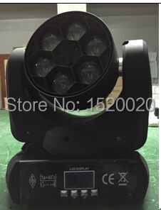 6*15W  led moving head light  bee eyes led beam RGBW colour dj lights for event party lighting 6 frames reversible honey extractor for bee keeping
