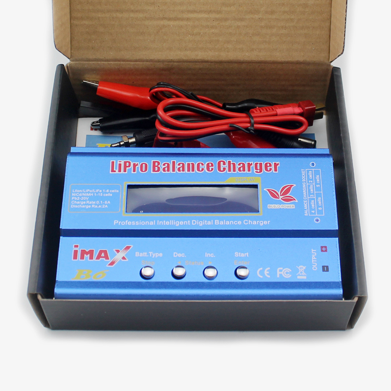 IMAX B6 80W 2S~6S Lipo Battery Balance Charger for RC Helicopter Plane Car Boat radiolink balance charger cb86 plus for 1s 6s lipo battery for rc helicopter