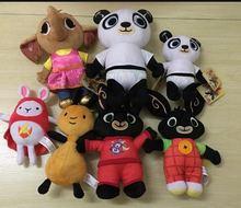 Genuine Bing Bunny Plush toy sula flop Hoppity Voosh pando bing coco plush doll peluche toys children birthday Christmas gifts