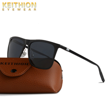 KEITHION Aluminium Magnesium Sunglasses Men Polarized Square Glasses Brand Design UV400 Protection Shades oculos de sol hombre цена и фото
