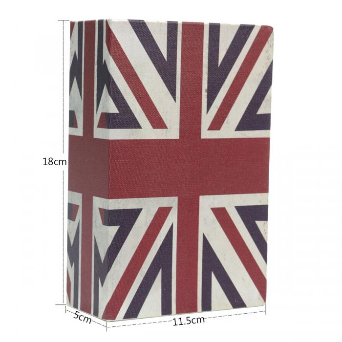Storage Safe Box Dictionary Book Bank Money Cash Jewellery Hidden Secret Security Locker TB Sale