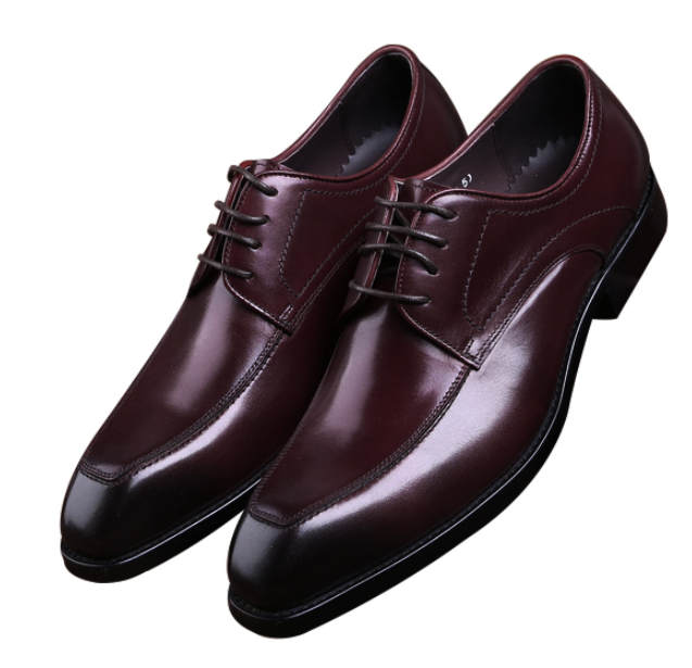 New Fashion Black / Brown Tan Formal Business Shoes Mens Dress Shoes Genuine Leather Goodyear Welt Shoes Man Wedding Shoes