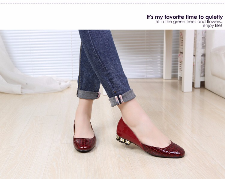 Flats Patent Leather Shoes 2016 New Arrival Casual Women Flat Shoes Summer D\'orsay Flats Plus Size 34-43 Ladies Shoes PX79 (22)