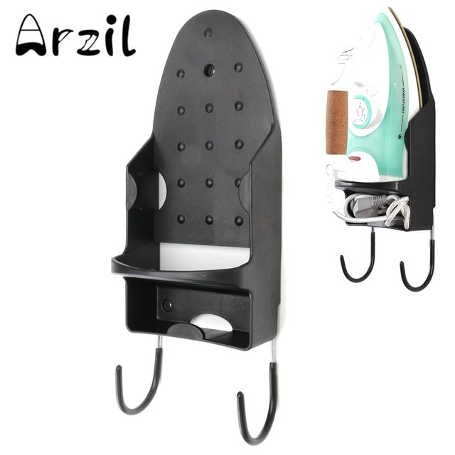 Folding Chair Storage Hooks Fisher Price Easy Clean High Recall Ironing Holder Board Hang Towels Rack With Two For Hotel Home Door Bathroom Bedroom