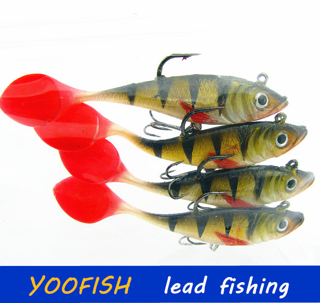 10pcs 11g 9cm winter fishing lures ice sea fishing tackle for Ice fishing supplies wholesale