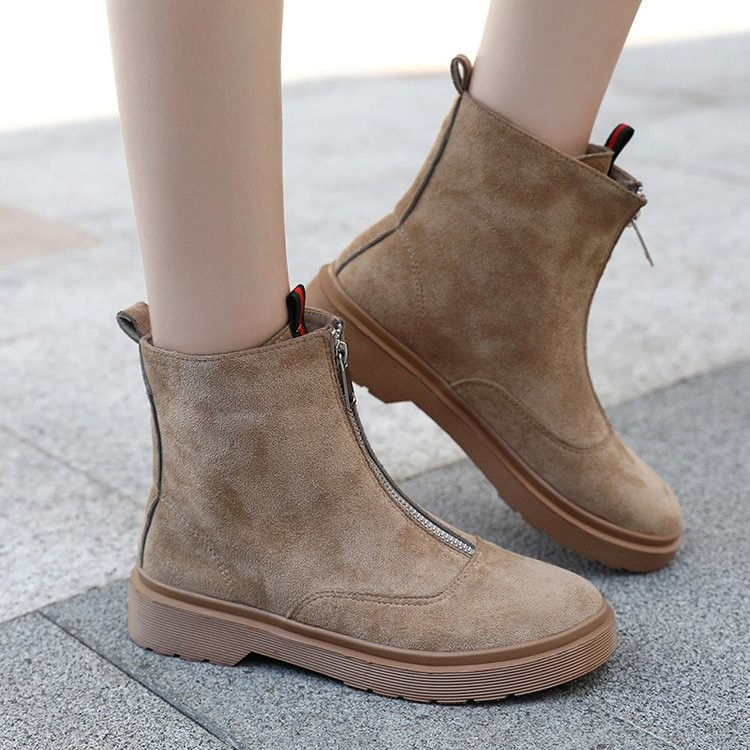 2018 new Martin boots female British wind tube Korean version of the wild ankle boots winter boots. 4