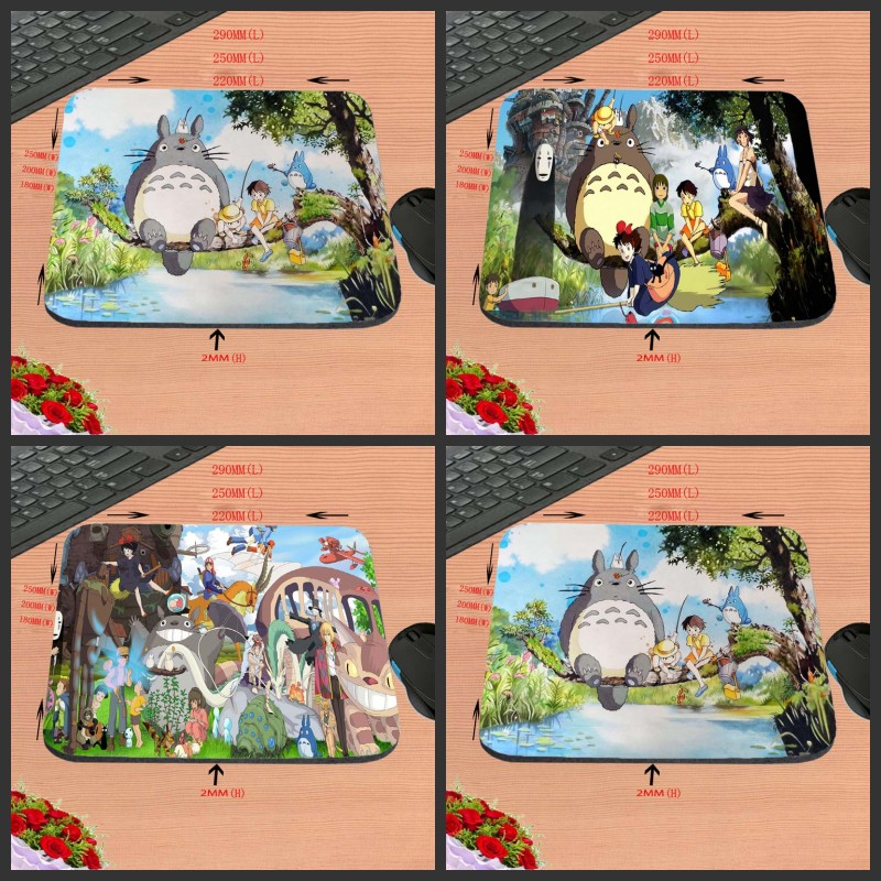Wholesale Hot Sell Print Anti-slip New Arrival Cartoon Anime Customized Mouse Pad Computer PC Nice Gaming Rectangular Mouse Mat